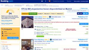 Booking.com hoteles