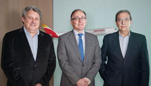Luis Gallego con CCOO y UGT