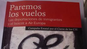 Libro vuelos de deportación Air Europa