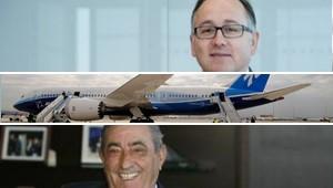 Luis Gallego y Juan José Hidalgo, Boeing 787