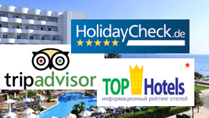 TripAdvisor, HolidayCheck, Tophotels