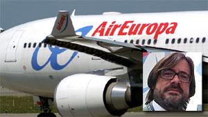 Carlos Cordero despedido de Air Europa
