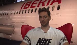 Pau Gasol visita Iberia