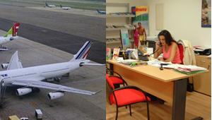 Aerolíneas y agencias de viajes