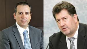 Julio de la Cruz (Transhotel) y Amancio López (Hotusa)
