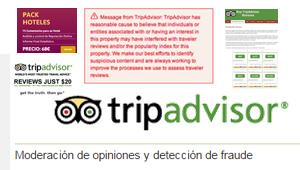 Comentarios falsos en TripAdvisor