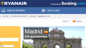 Hoteles Ryanair Booking.com