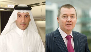 Akbar Al Baker y Willie Walsh