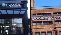 Expedia y Booking