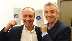 Ryanair, Michael O'Leary y Kenny Jacobs