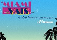 Concurso Air Europa A Miami os Vais