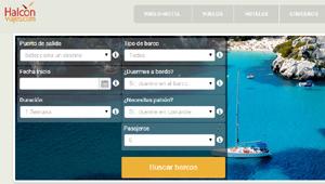 Halcón Viajes alquila barcos con aBoatTime
