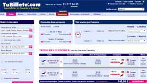 Tubillete.com venta Iberia
