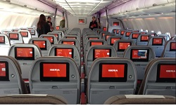iberia cabina avion