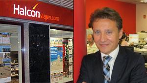 David Ballesteros, Halcón Viajes empresas