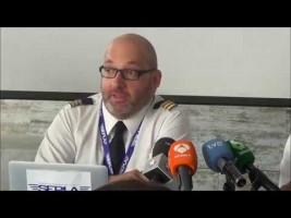Sepla atribuye el accidente de Swiftair a la falta de formación de los pilotos