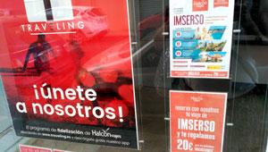 Halc n tienta a los abuelos del imserso con 20 euros de regalo en 39 travels 39 noticias de - Oficinas viajes halcon ...