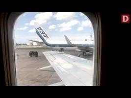 Pasajeros graban el presunto robo de maletas en el aeropuerto de La Habana