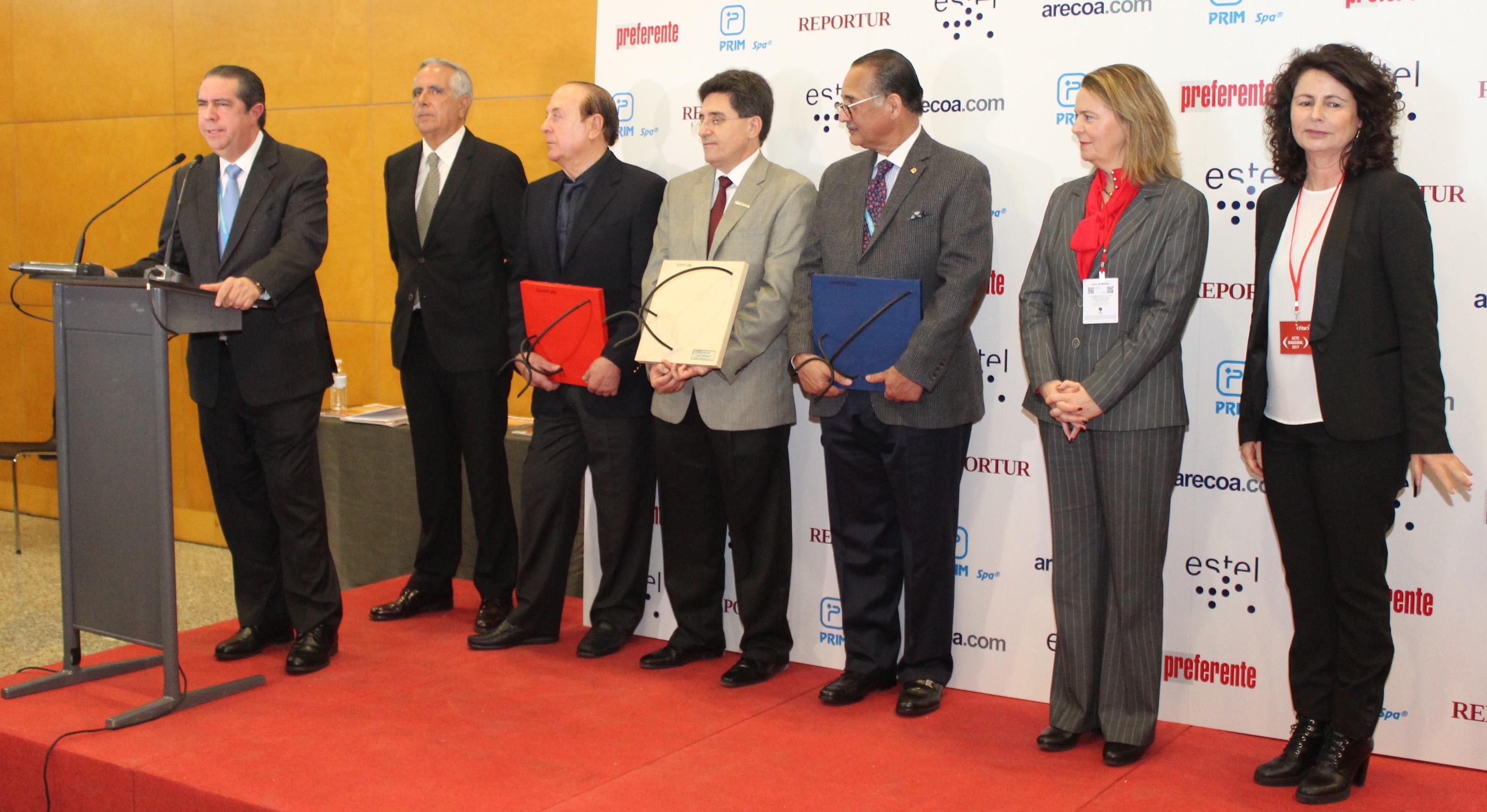 ministro-turismo-premios-preferente-arecoa