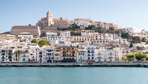 Eivissa - the capital of Ibiza, Spain