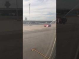 El último vuelo desde Mauricio del comandante Justas