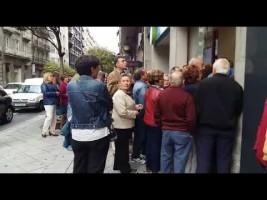Las colas llegan a las agencias españolas para reservar viajes del Imserso