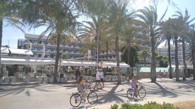 Turistas temporada verano 2018