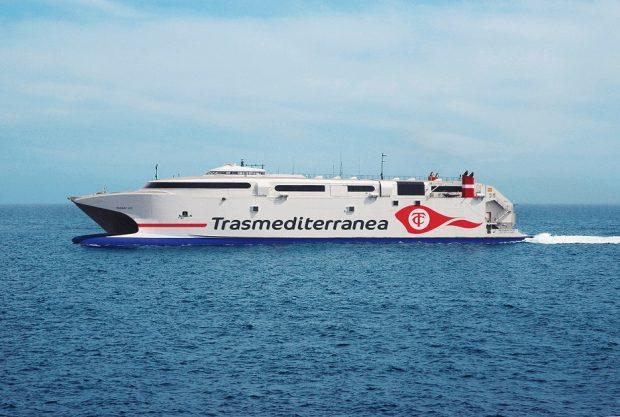 'Milenium 2' con el nuevo logo de la naviera española (render)
