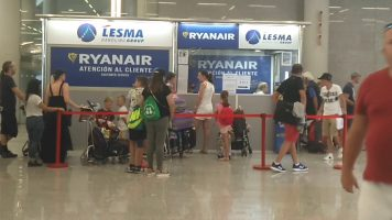 Atención al cliente, huelga TCP Ryanair, aeropuerto de Palma