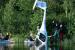Primer vuelo de un avión eléctrico en Noruega… y se estrella en un lago