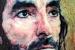 Foto - Un retrato de Javier Hidalgo (Globalia) cuelga de la Catedral de Toledo como uno de los 12 apóstoles