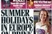 Gran Bretaña debate si el verano en España se acaba